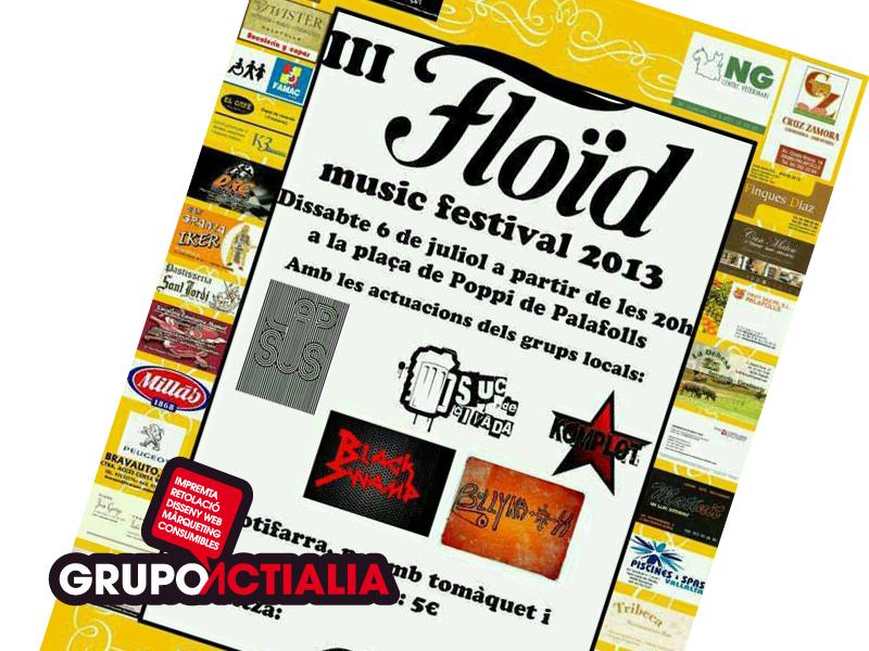 Floid Music Festival Palafolls
