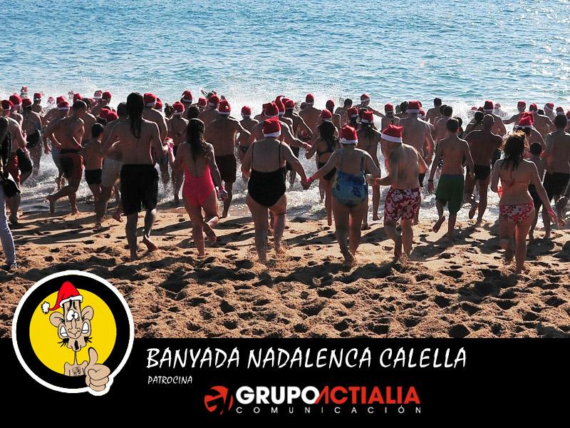 Banyada Nadalenca a Calella 2013