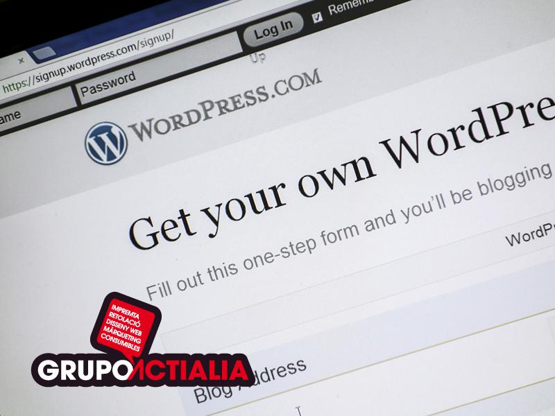 Blog WordPress las principales ventajas